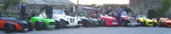 BKCC - Probably the best kit car club in the world. Picture from one of our first meets